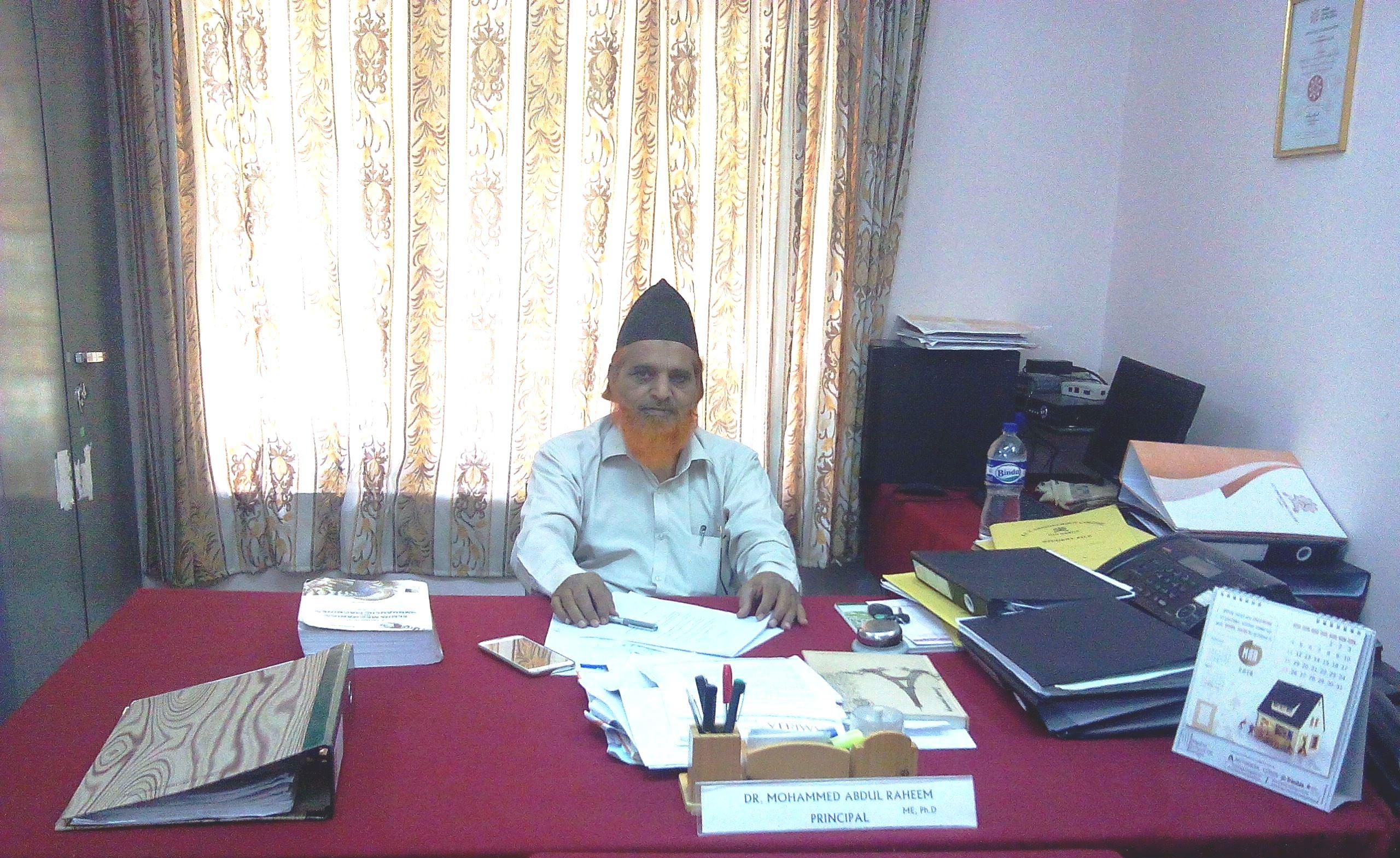 Dr. Mohammed Abdul Raheem