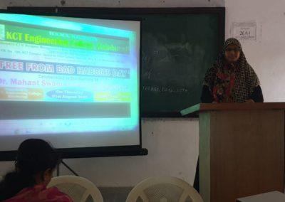speech competition participant.